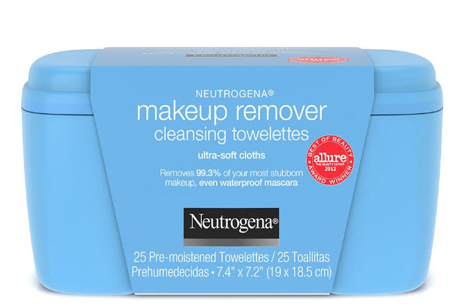 Neutrogena eye makeup remover wipes